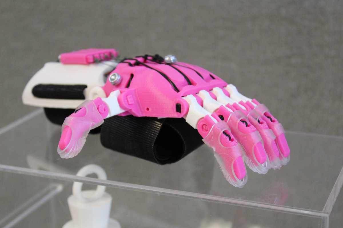 3D Printing Children's Prosthetic Hands at Your Library